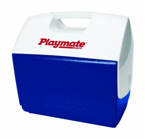 Igloo Elite Playmate Cooler - Blue/White Perspective: front