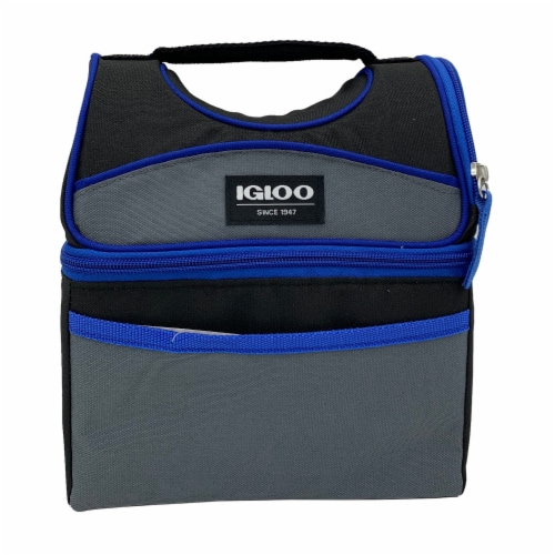 Igloo Playmate Lunchbox - Blueberry Perspective: front