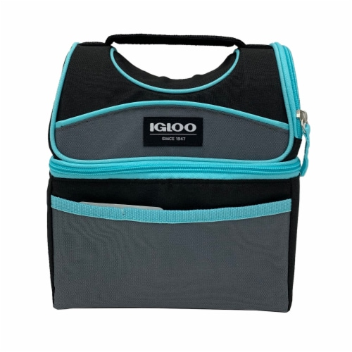 Igloo Playmate Lunch Box - Seafoam Perspective: front