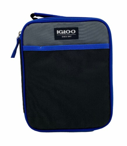Igloo Lunch Box - Blueberry Perspective: front