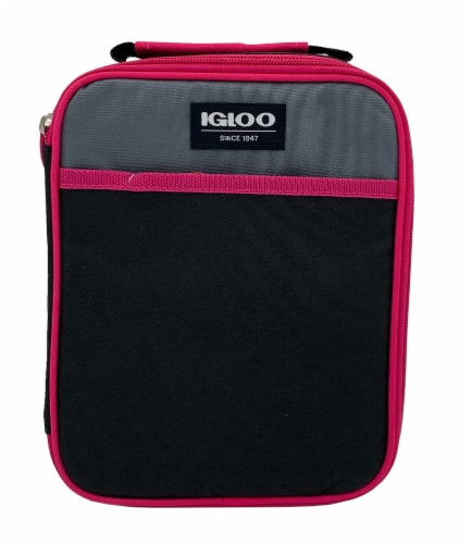 Igloo Lunch Box - Fuschia Perspective: front