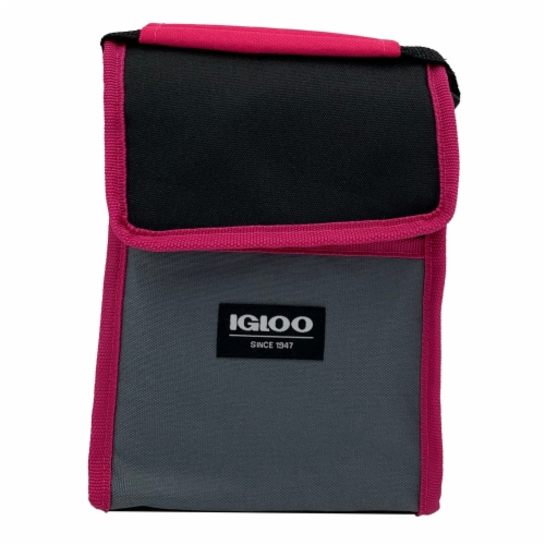 Igloo Lunch Sack - Fuschia Perspective: front