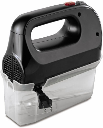 Oster® 5-Speed Handmixer with Storage Case - Black Perspective: front