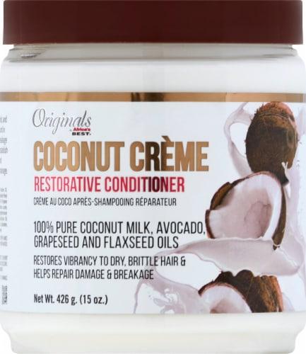 Africa's Best Coconut Creme Restorative Conditioner Perspective: front