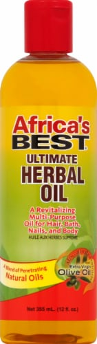 Africa's Best Ultimate Herbal Oil Perspective: front