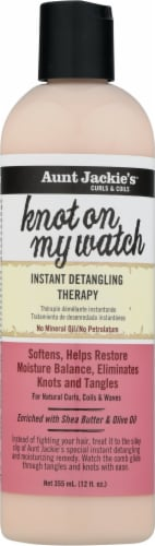 Aunt Jackie's Curls & Coils Knot on My Watch Instant Detangling Therapy Perspective: front