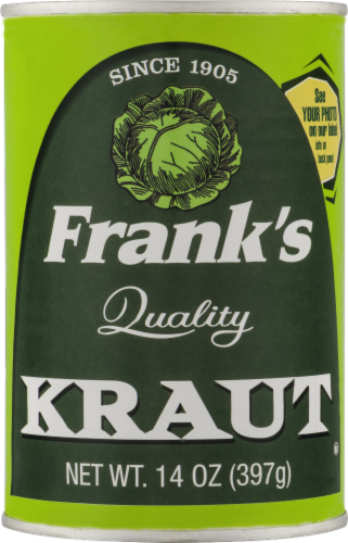 Frank's Quality Kraut Perspective: front