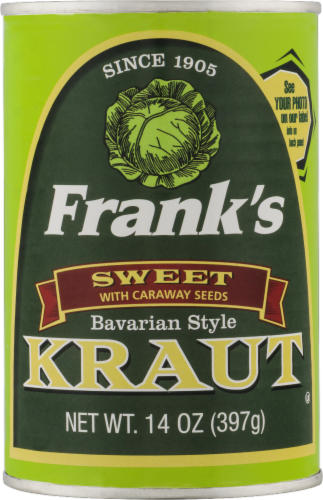 Frank's Sweet Bavarian-Style Kraut Perspective: front