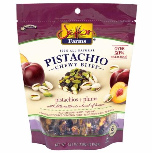 Setton Farms Pistachios & Plum Chewy Bites Perspective: front