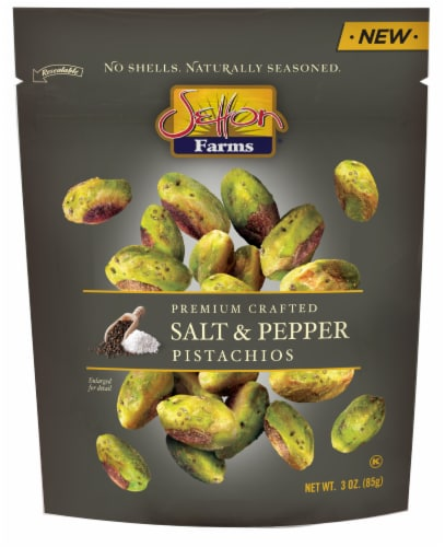 Setton Farms Salt & Pepper Pistachios Perspective: front