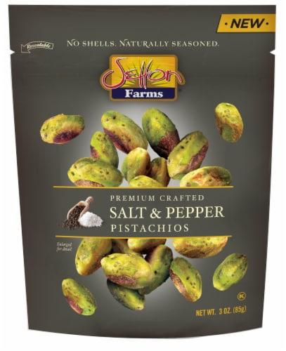 Setton Farms Salt & Pepper Pistachios Perspective: front