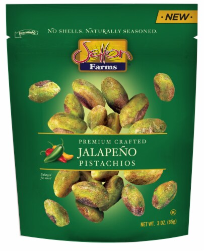 Setton Farms Jalapeno Seasoned Pistachio Kernels Perspective: front