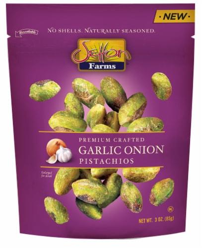 Setton Farms Garlic Onion Pistachios Perspective: front