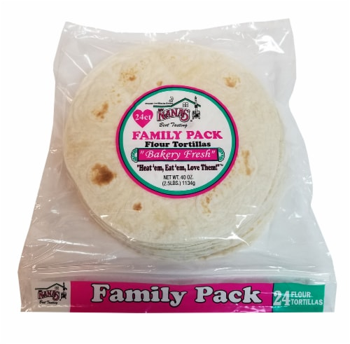 My Nana's Best Tasting Flour Tortillas 24ct Perspective: front
