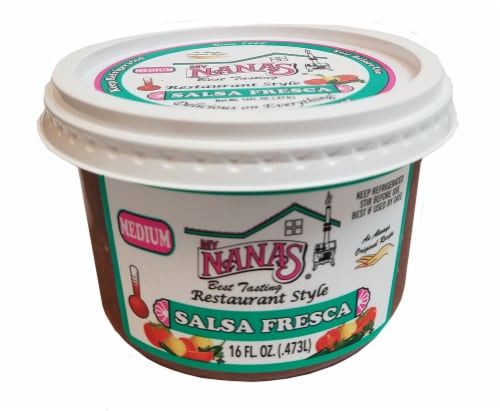 My Nana's Best Tasting Medium Salsa Fresca Perspective: front