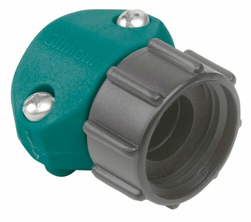 Gilmour Female Coupling Hose - Green Perspective: front