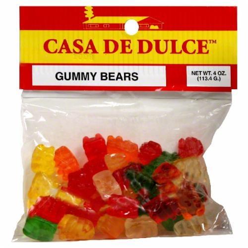 Casa De Dulce Gummy Bears Perspective: front