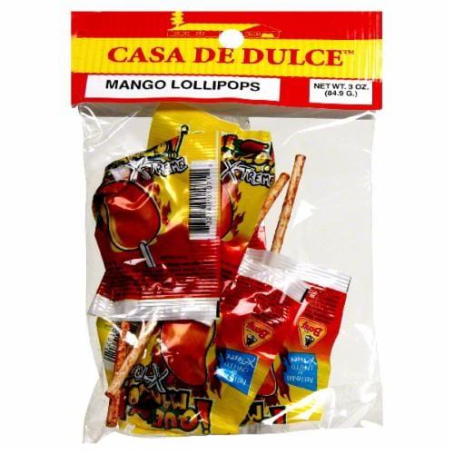 Casa De Dulce Mango Lollipops Perspective: front