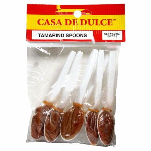 Casa De Dulce Tamarindo Spoons Perspective: front