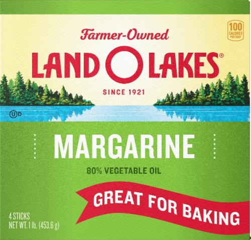 Land O' Lakes Margarine Sticks Perspective: front