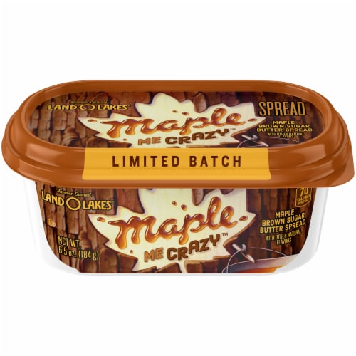 Land O' Lakes® Maple Me Crazy Maple Brown Sugar Butter Spread Perspective: front