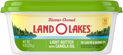 Land O' Lakes Canola Oil Light Butter Spread Perspective: front