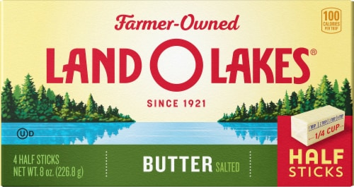 Land O' Lakes Half Sticks Salted Butter Perspective: front