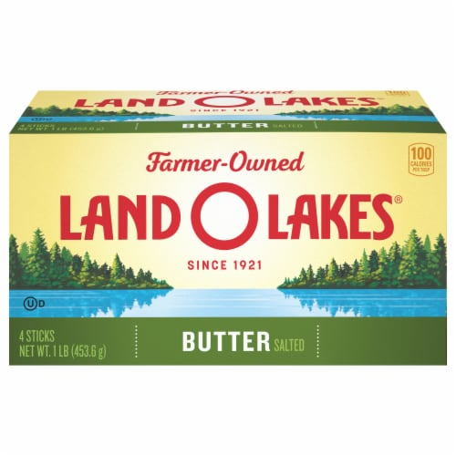 Land O' Lakes Salted Butter Sticks Perspective: front