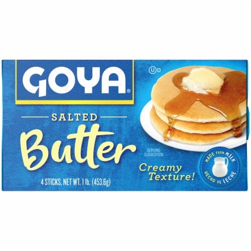 Goya Salted Butter Sticks Perspective: front