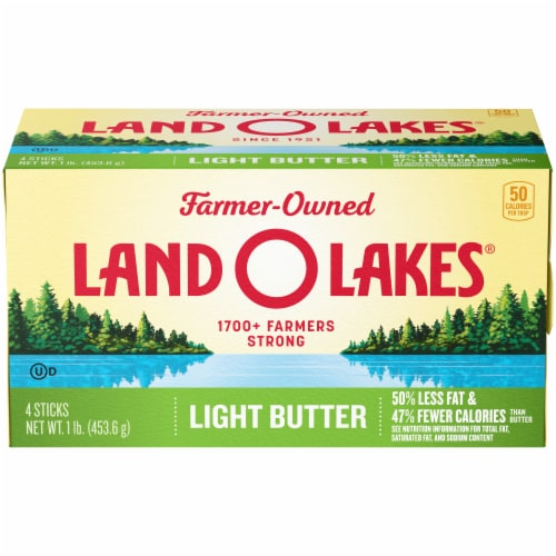 Land O' Lakes Salted Light Butter Perspective: front