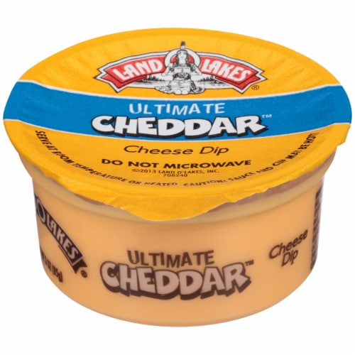 Land O' Lakes Cheddar Cheese Cup Perspective: front