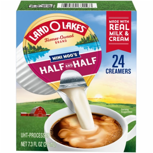 Land O Lakes Mini Moo's Half & Half Creamers 24 Count Perspective: front