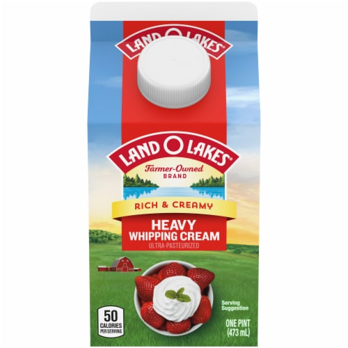 Land O'Lakes Heavy Whipping Cream Perspective: front