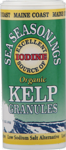 Maine Coast Sea Seasonings Kelp Granules Perspective: front