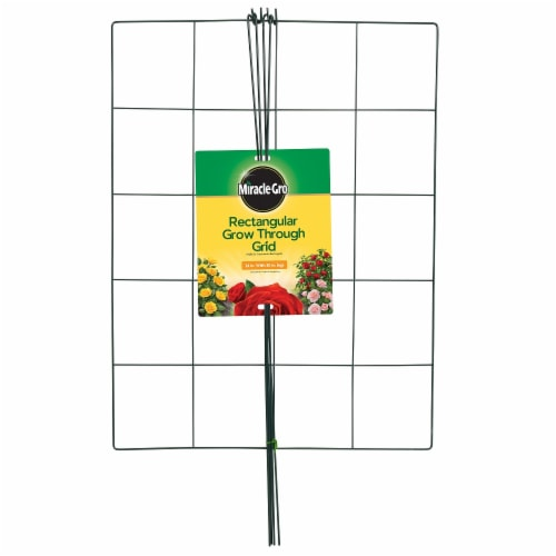 Miracle-Gro Rectangular Grow-Through Grid Perspective: front