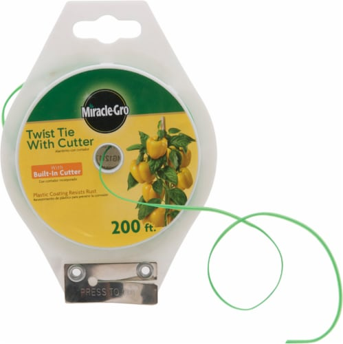 Miracle Gro Twist Tie with Cutter Perspective: front