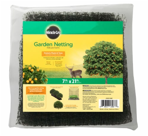 Miracle-Gro Garden Netting Perspective: front