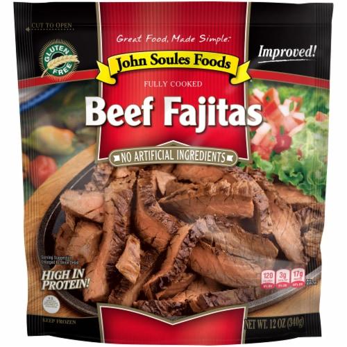 John Soules Foods Beef Fajitas Perspective: front