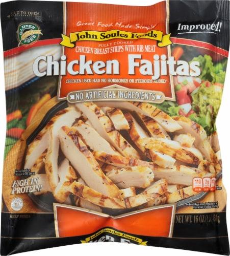 John Soules Foods Chicken Fajitas Strips Perspective: front