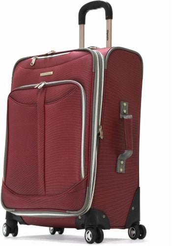 Olympia Tuscany Spinner Carry-On - Red Perspective: front