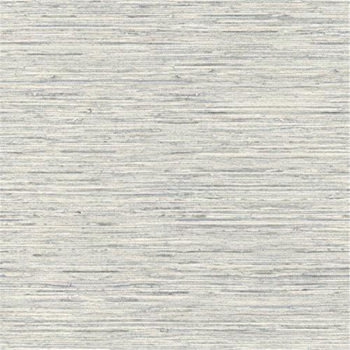 RoomMates Blue Grasscloth Peel & Stick Wallpaper Perspective: front