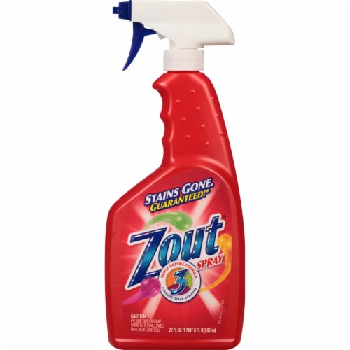 Zout Triple Enzyme Formula Stain Remover Spray Perspective: front