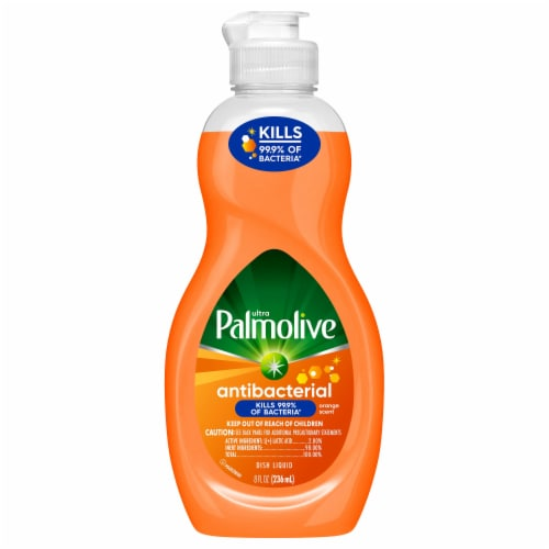 Palmolive Ultra Antibacterial Liquid Dish Soap Perspective: front