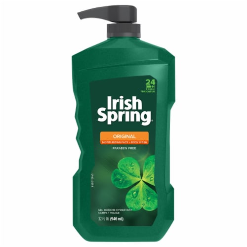 Irish Spring Original Body Wash Perspective: front