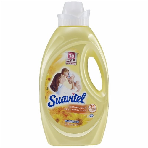 Suavitel Morning Sun Liquid Fabric Softener Perspective: front