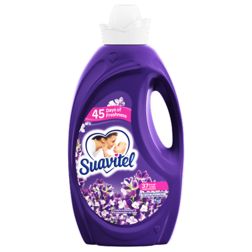 Suavitel Soothing Lavender Liquid Fabric Softener Perspective: front