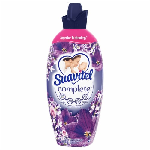Suavitel Complete Soothing Lavender Liquid Fabric Softener Perspective: front