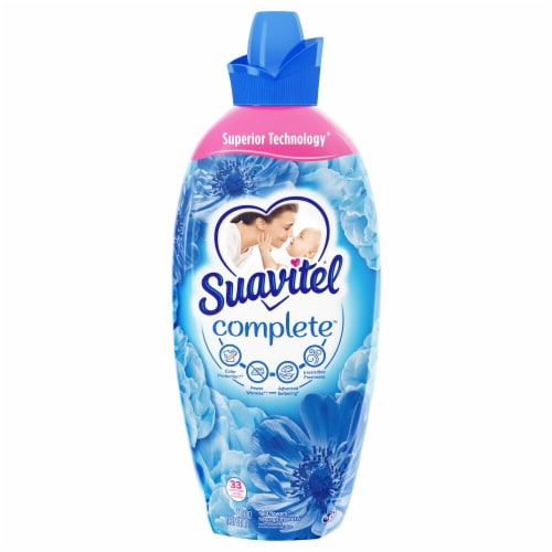 Suavitel Complete Field Flowers Liquid Fabric Softener Perspective: front