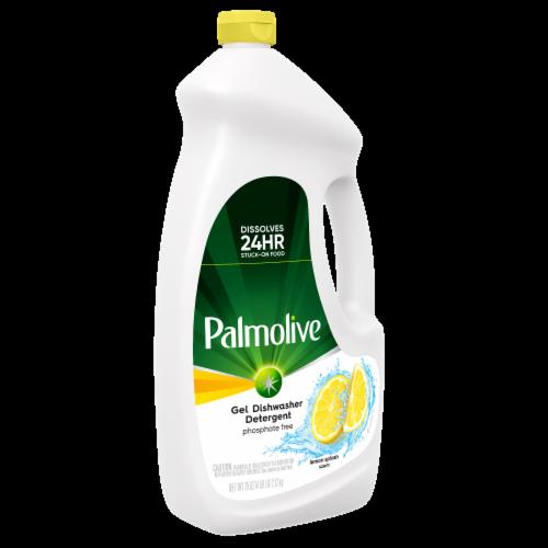 Palmolive Eco Gel Lemon Dishwasher Detergent Perspective: front