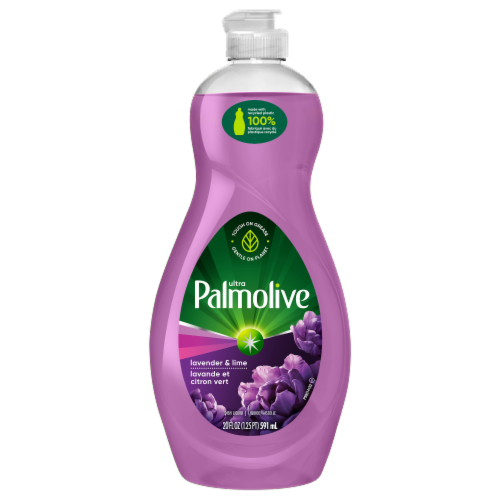 Palmolive Ultra Lavender & Lime Dish Liquid Perspective: front
